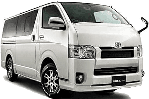 12 Seater van Rental in Dubai