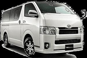 12 Seats Minivan Rental in Dubai