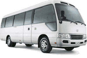 30 Seats Coaster Bus Rent Dubai, sharjah UAE