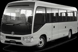 34 Seats Bus Rosa Rent Dubai