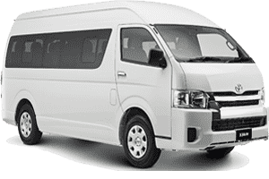 15 Seats Minivan Rent Dubai, Sharjah UAE