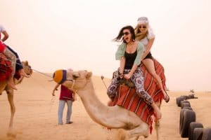 Camel ride at Desert Safari Dubai