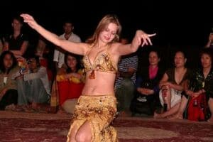 Belly Dance at Desert Safari Dubai