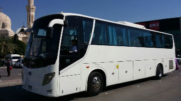 tour by private chauffeur bus