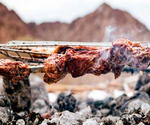 BBQ at Hatta