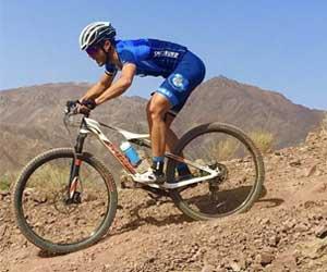 Bike ride at Hatta mountains