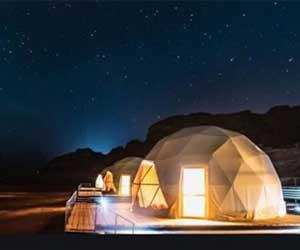 Camping at Hatta