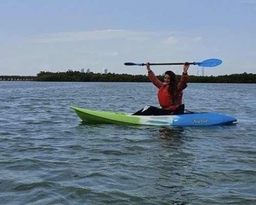 Kayak at Abu Dhabi Eastern Mangroves
